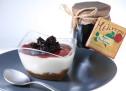 Cheesecake με γλυκό κουταλιού Άγριο Βατόμουρο Γράμμου!