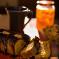 Κέικ Καρότου με σιρόπι από γλυκό κουταλιού  κολοκύθι