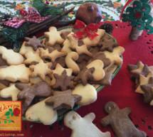 Χριστουγεννιάτικα Μπισκότα Βουτύρου και Σοκολάτας